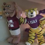 MSU  & LSU getting ready to battle