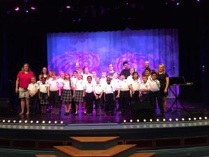 OLF Children's Choir Performs at O'Keefe Cultural Center