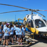 Medical helicopter tour