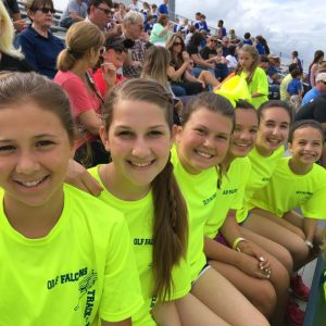 Students participate in the annual track meet at St. Patricks