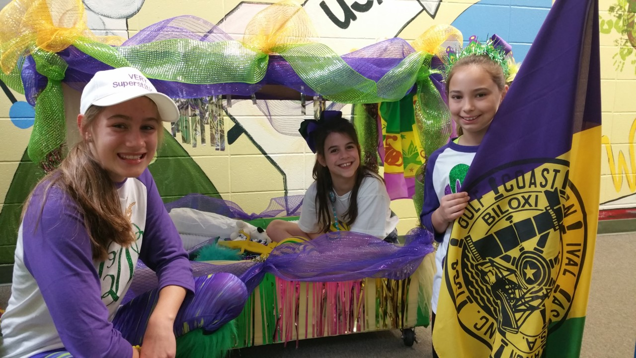 Parade day at OLF