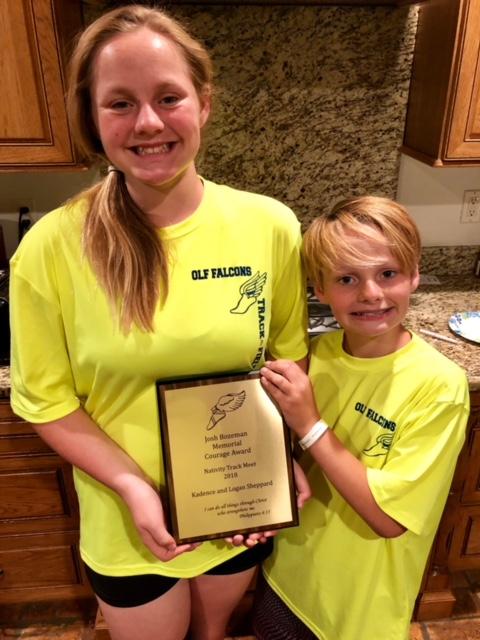 Kadence and Logan Sheppard win Bozeman Award